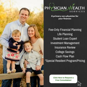 Physician Wealth Services is a proud sponsor of Financial Residency