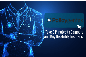 Policy genius and disability insurance